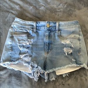 never worn american eagle shorts